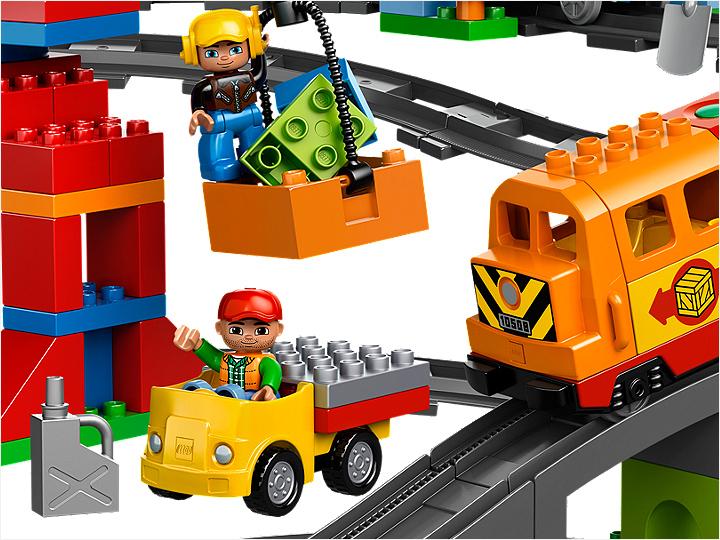 Лего дупло поезд управление