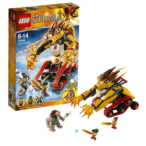 Lego Legends of Сhima 70144 Laval's Fire Lion Огненный Лев Лавала