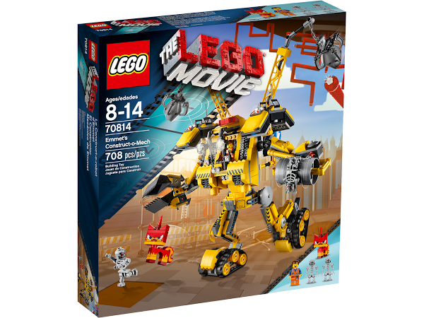 Lego Movie 70814 Emmet's Construction Mech Робот-конструктор Эммета