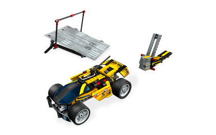 Lego Racers 8166 Wing Jumper Прыгун с крыльями