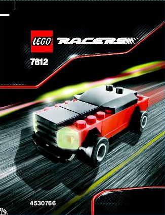Lego Racers 7612 Muscle Car