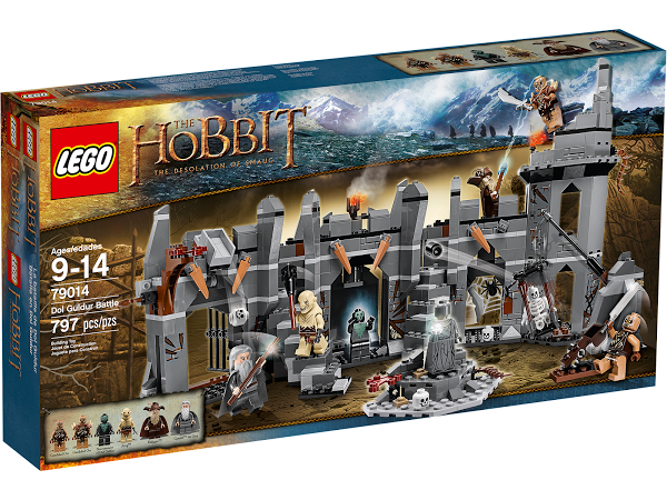 Lego Hobbit  79014 Dol Guldur Battle Битва при Дол Гулдуре