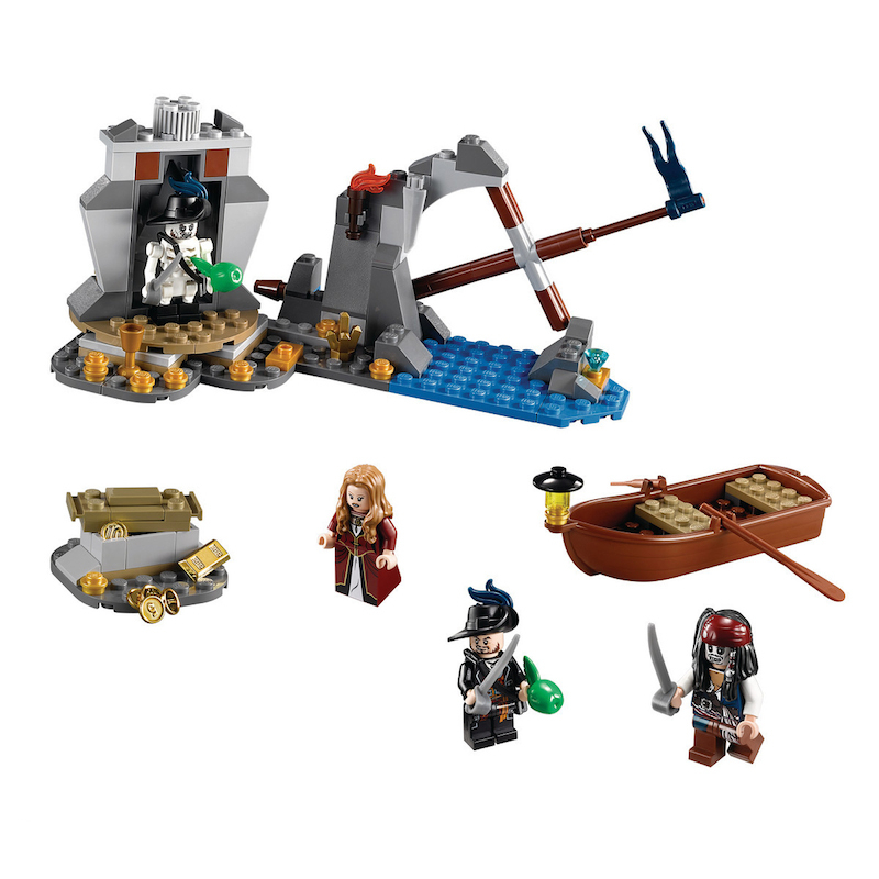 Lego Pirates of the Caribbean 4181 Isla De La Muerta Логово Пиратов