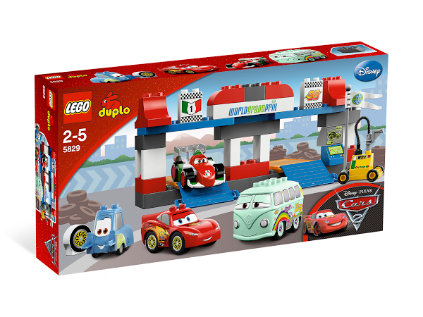 Lego Duplo 5829 The Pit Stop Пит-стоп