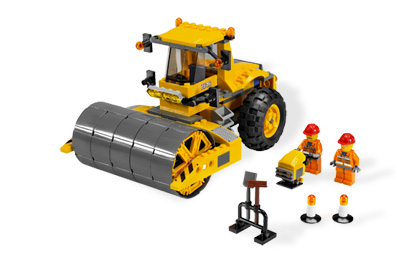 Lego City 7746 Single-Drum Roller