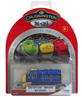 Chuggington LC54003 Паровозик Брюстер
