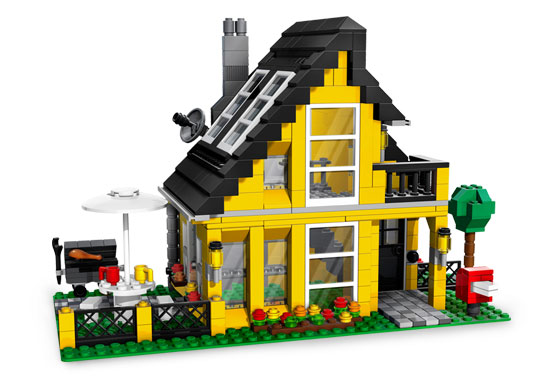 Lego Creator 4996 Beach House Пляжный дом