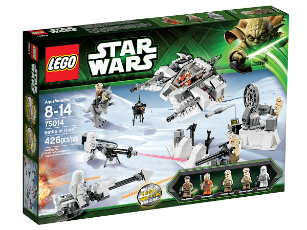 Lego Star Wars 75014 Battle Of Hoth Битва за Хот