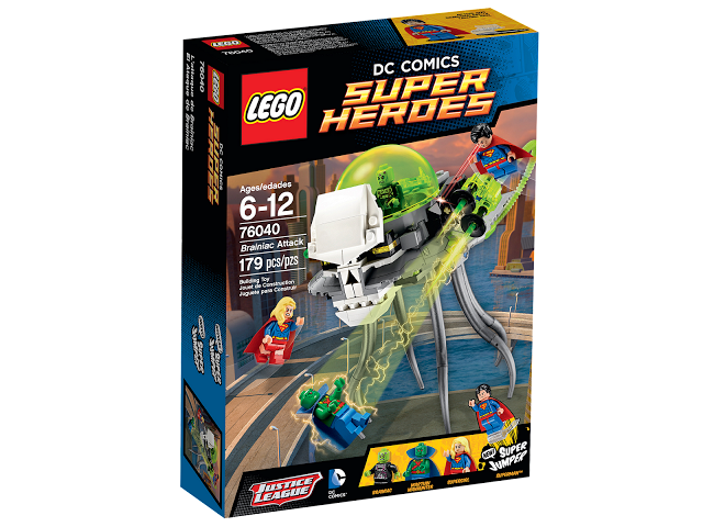 Lego Super Heroes 76040 Brainiac Attack