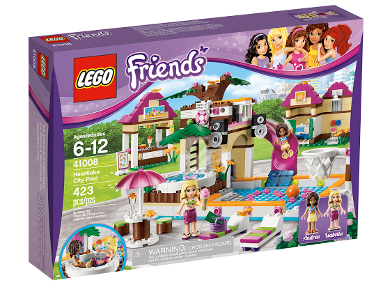 Lego Friends 41008 Heartlake City Pool Городской бассейн