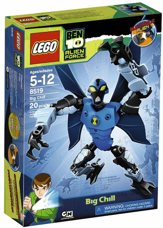Lego Ben 10 8519 Big Chill Крылатый