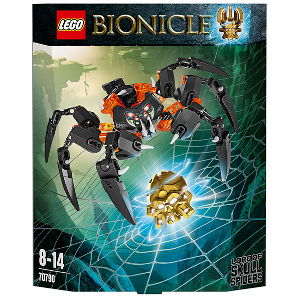 Lego Bionicle 70790 Lord of Skull Spiders Лорд Паучий Череп