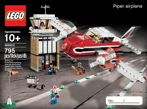 Lego Exclusive 4000012 Piper Airplane