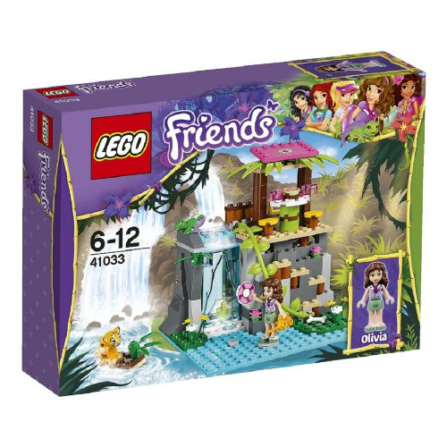 Lego Friends 41033 Jungle Falls Rescue Джунгли: Спасение тигренка у водопада