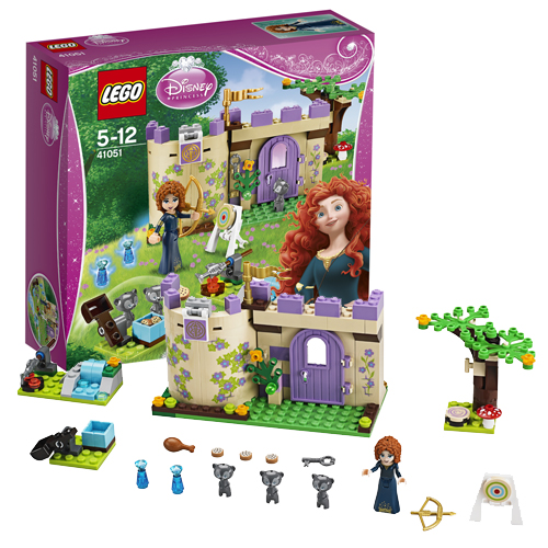 Lego Disney Princess 41051 Merida's Highland Games Горные игры Мериды