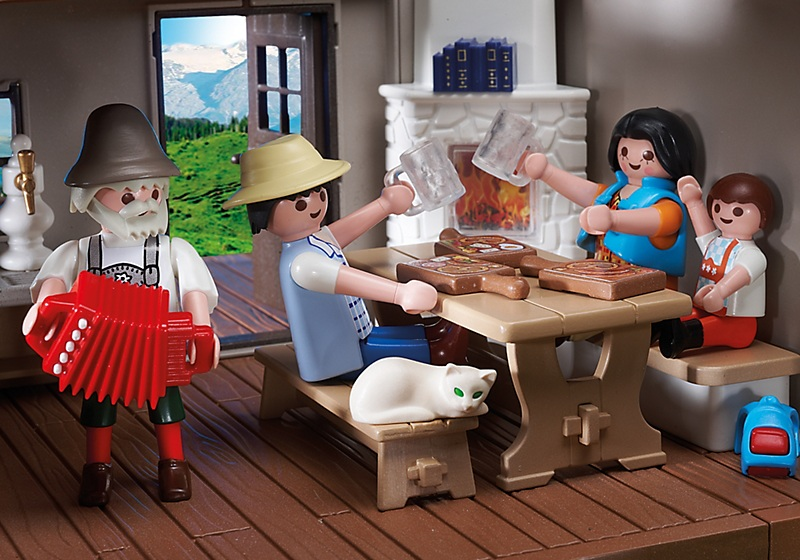 Playmobil 5422pm В горах: Дом в горах