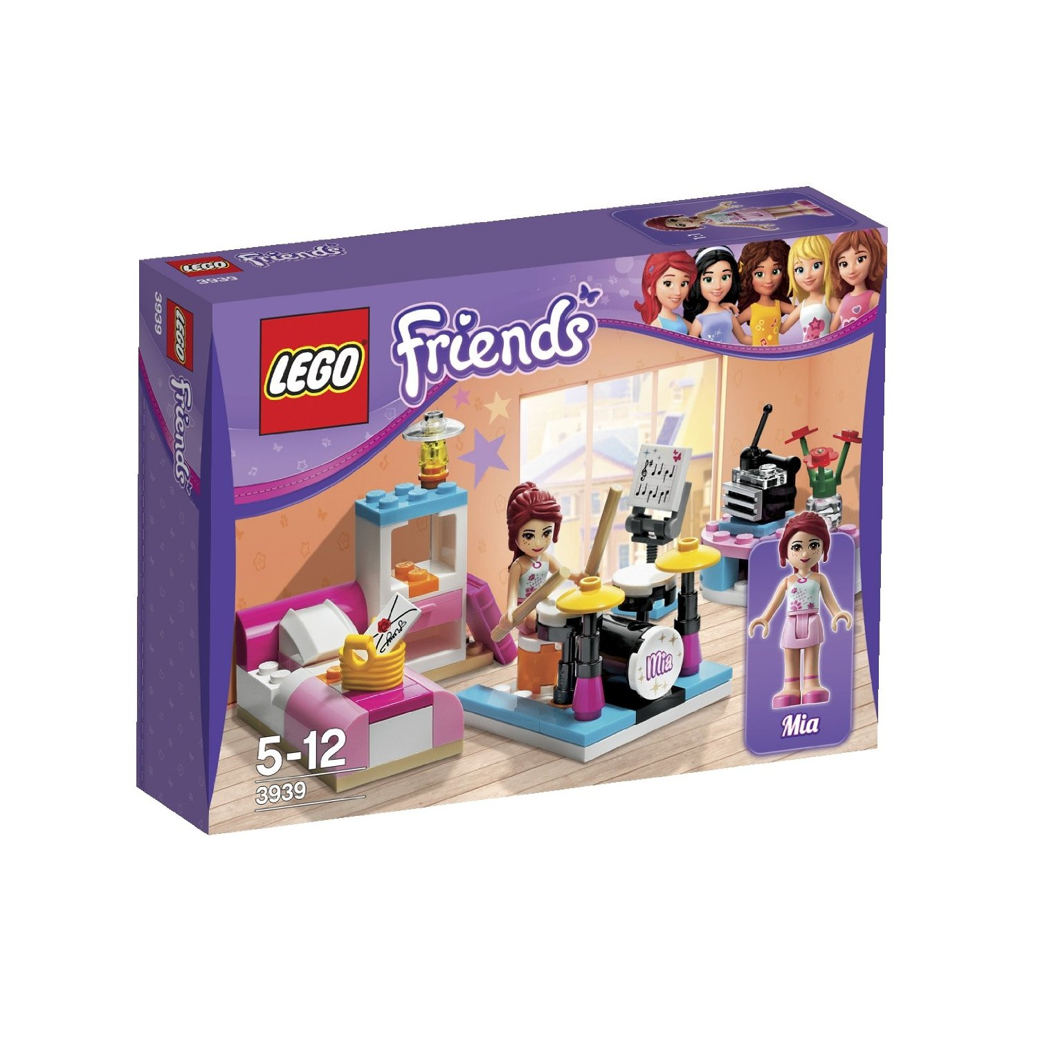Lego Friends 3939 Mias Music Room Комната Мии