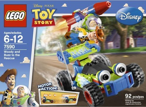Lego Toy Story 7590 Woody and Buzz Rescue (Вуди и Баз спешат на помощь)