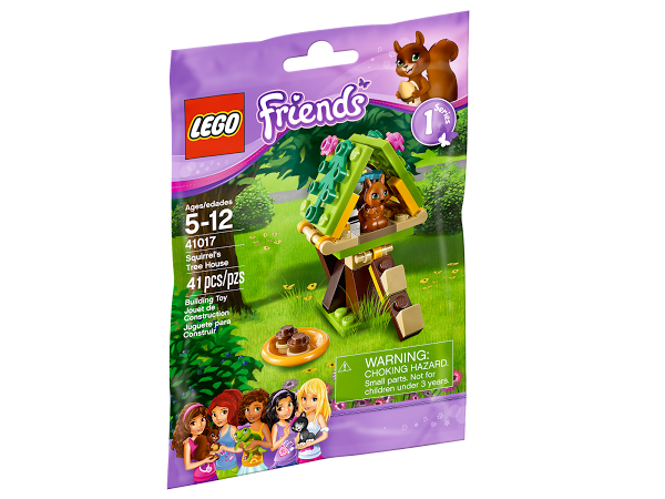 Lego Friends 41017 Squrrel's Tree House