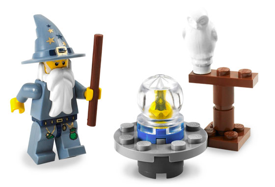 Lego Castle 5614 The Good Wizard Добрый волшебник