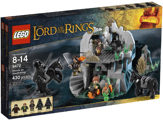 Lego Lord of the Rings 9472 Attack On Weathertop Нападение на Заветерь