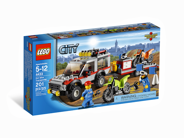 Lego City 4433 Dirt Bike Transporter Транспортёр мотоциклов