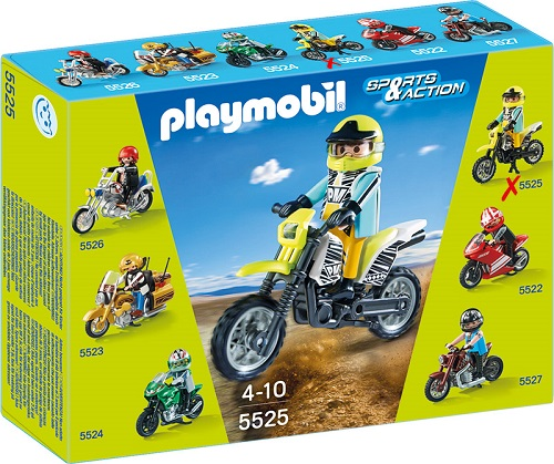 Playmobil 5525pm Коллекция мотоциклов: Мотокросс