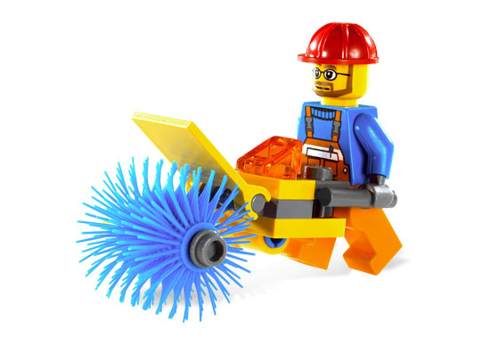 Lego City 5620 Street Cleaner Уборщик улиц