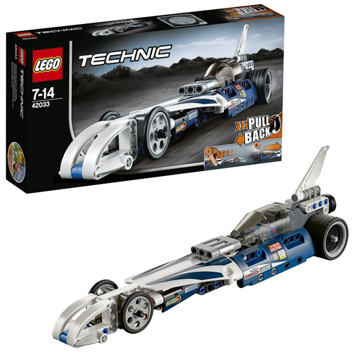 Lego Technic 42033 Record Breaker Рекордсмен