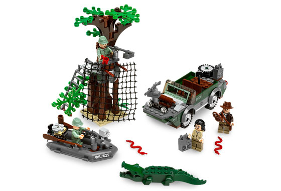 Lego Indiana Jones 7625 River Chase Погоня по реке
