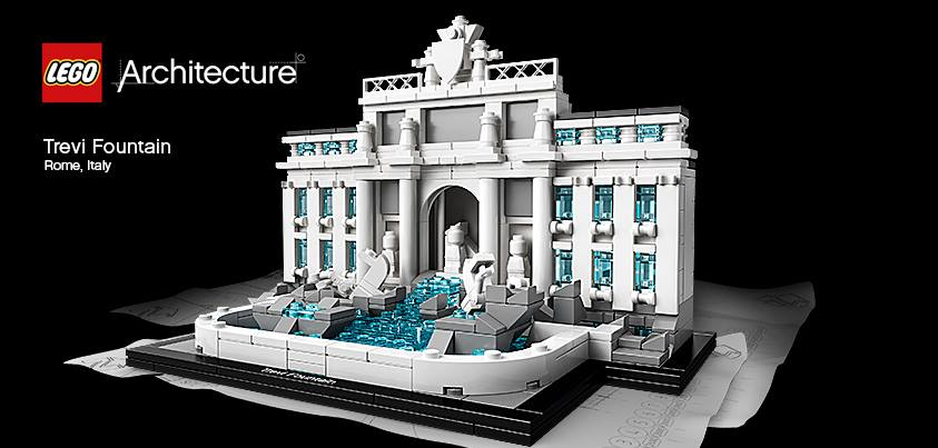 Lego Architecture 21020 The Trevi Fountain
