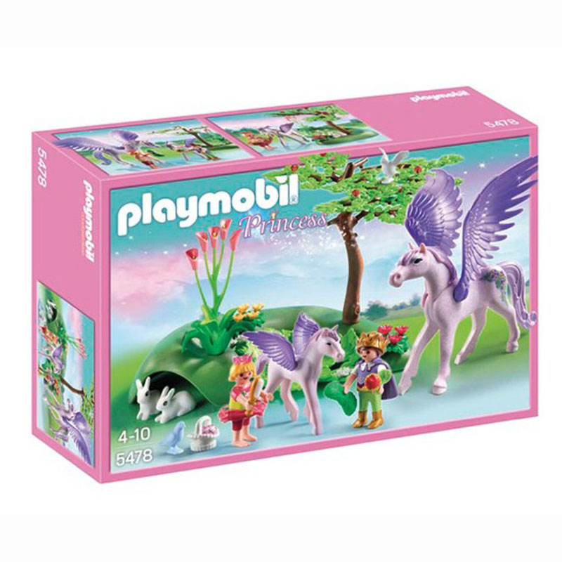 Playmobil 5478pm Замок кристалла: Королевские дети и маленький пегас