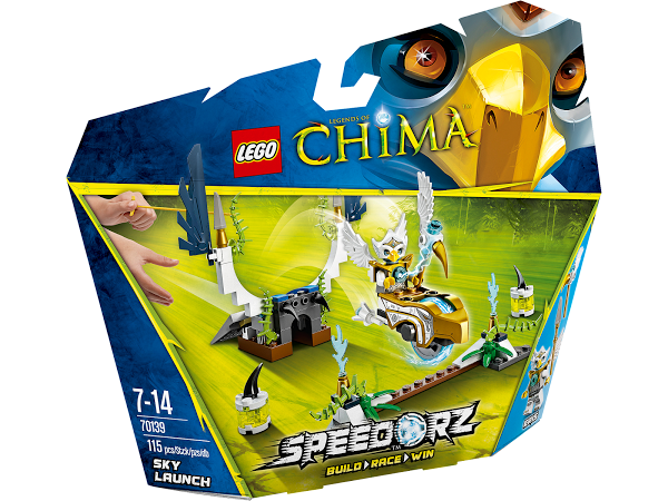 Lego Legends of Сhima 70139 Sky Launch