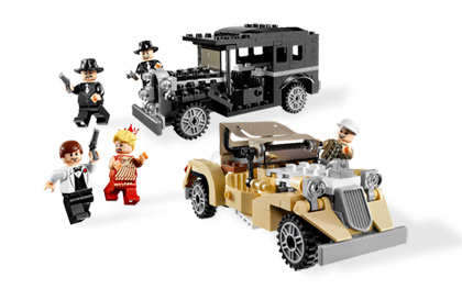 Lego Indiana Jones 7682 Shanghai Chase Погоня в Шанхае