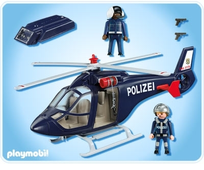 Playmobil 5183pm Полиция: Полицейский вертолет