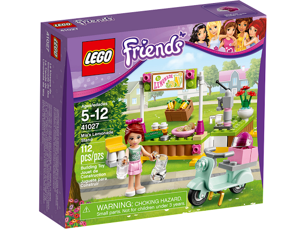Lego Friends 41027 Mia's Lemonade Stand Лимонадная палатка Мии