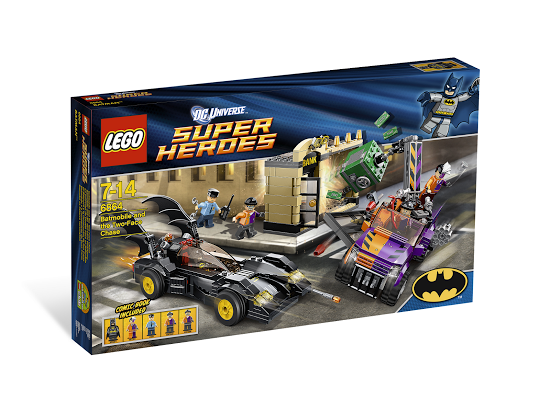 Lego Super Heroes 6864 The Batmobile and the Two-Face Chase Бэтмен против Двуликого