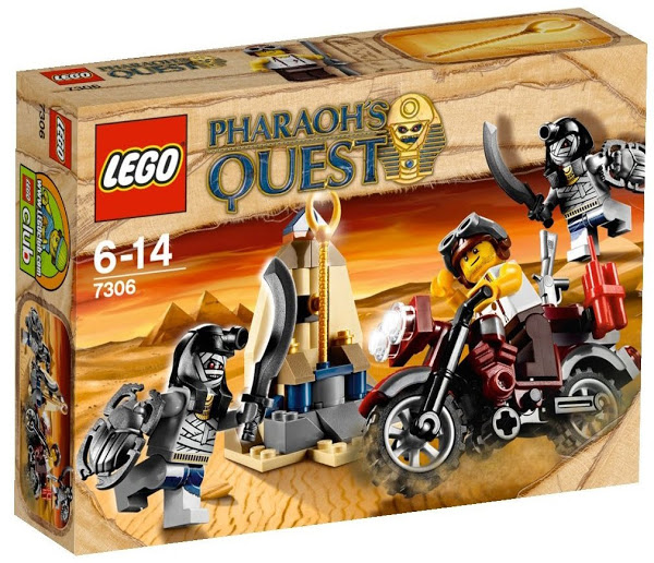 Lego Pharaoh's Quest 7306 Golden Staff Guardians Стражи Золотого Жезла