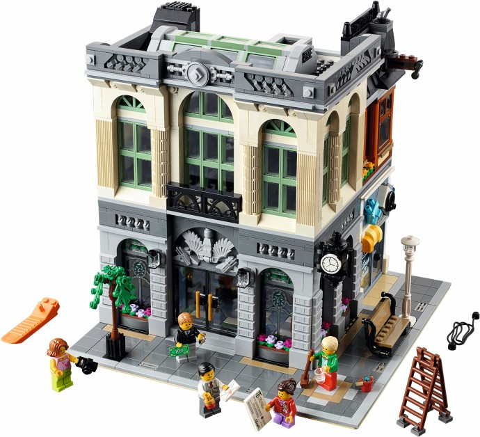 Lego Exclusive 10251 Brick Bank Банк