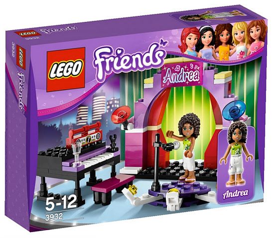 Lego Friends 3932 Andrea's Stage Андреа на сцене