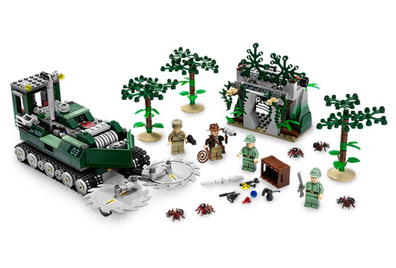Lego Indiana Jones 7626 Jungle Cutter Режущая машина