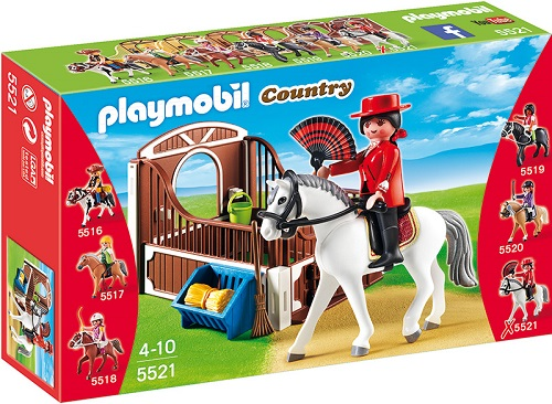 Playmobil 5521pm Конный клуб: Андалусская лошадка и загон