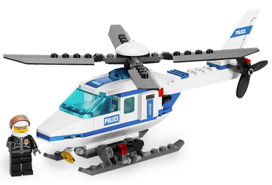 Lego City 7741 Police Helicopter Полицейский вертолёт