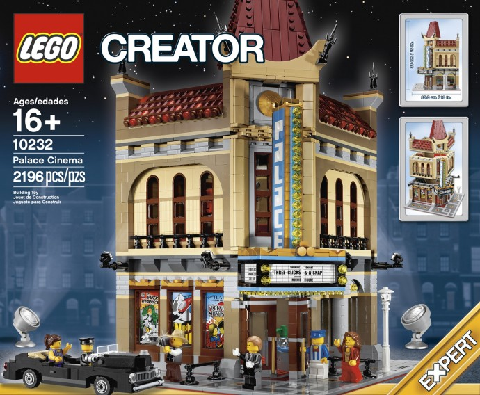 Lego Creator 10232 Palace Cinema Дворец кино