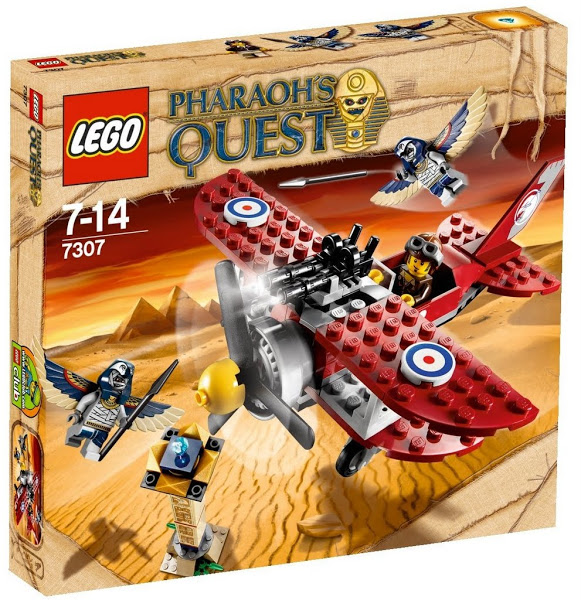 Lego Pharaoh's Quest 7307 Duel in the Air