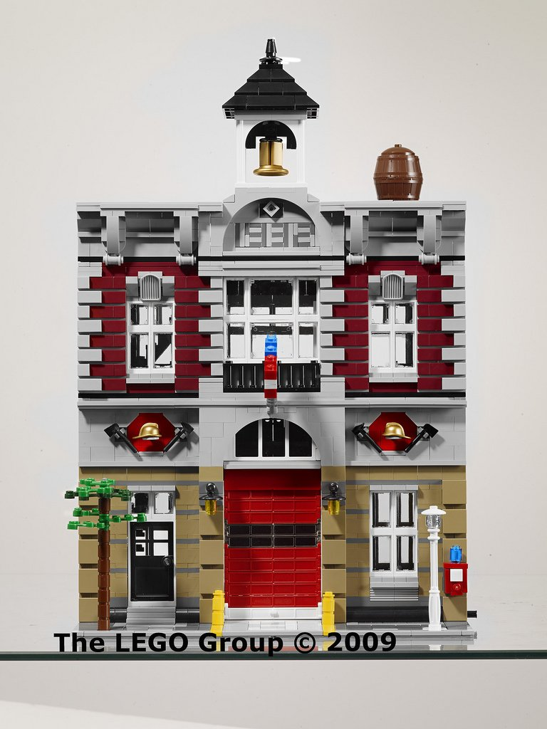 Lego Exclusive 10197 Fire Brigade Пожарная команда