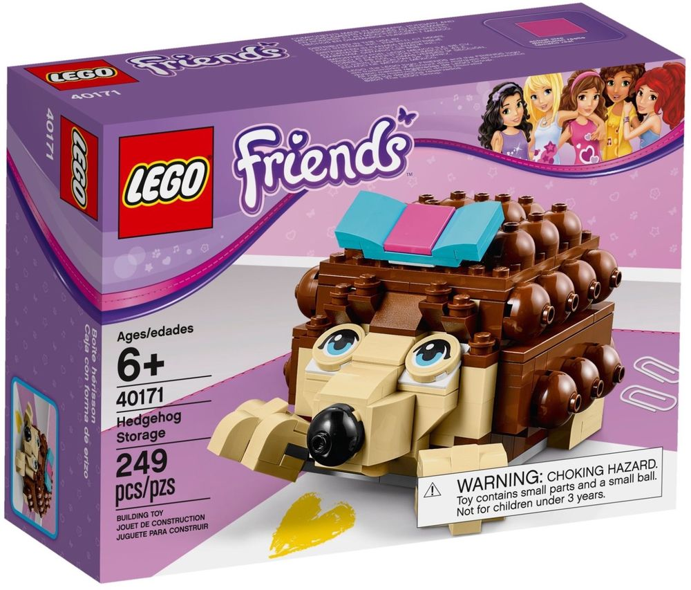 Lego Friends 40171 Контейнер Ежик