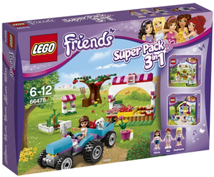 Lego Friends 66478 Friends Value Pack