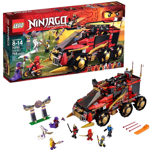 Lego Ninjago 70750 Mobile Ninja base