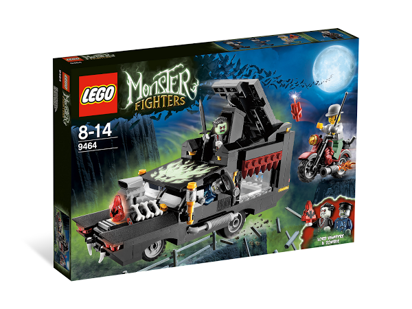 Lego Monster Fighters 9464 Vampire Hearse Катафалк Вампира